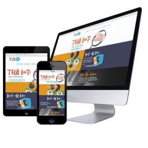 Cause Website Design Example