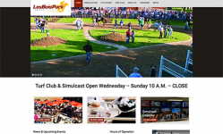 Home Page with Image Rotator and Calls-to-Action for Tickets and Events